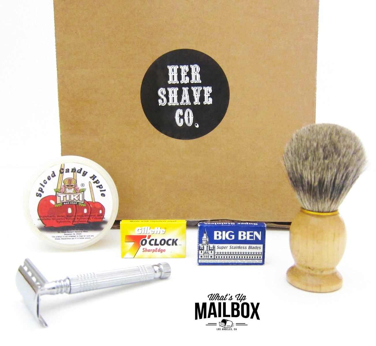 Her Shave Co. First Box Items!