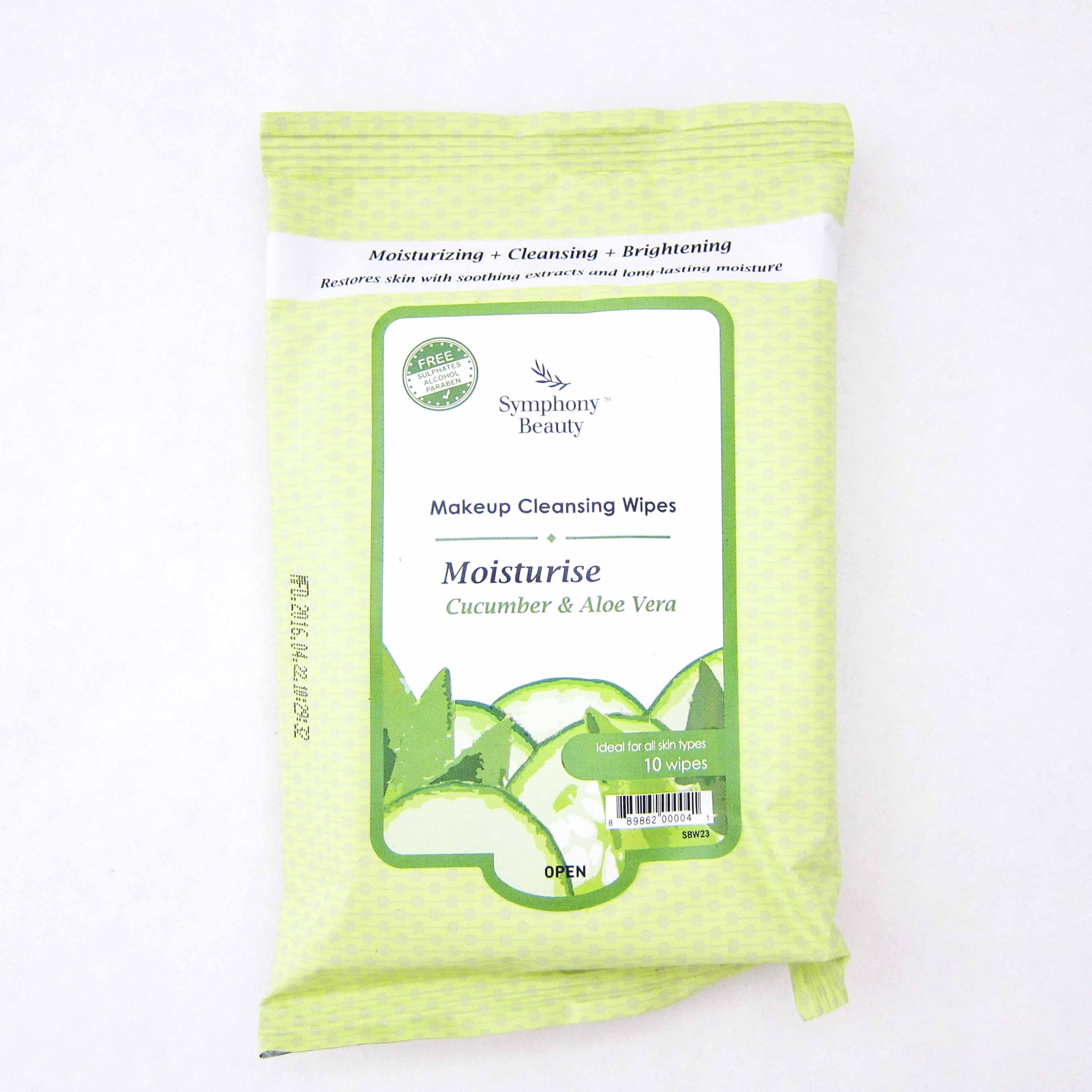 Symphony Beauty Makeup Cleansing Wipes