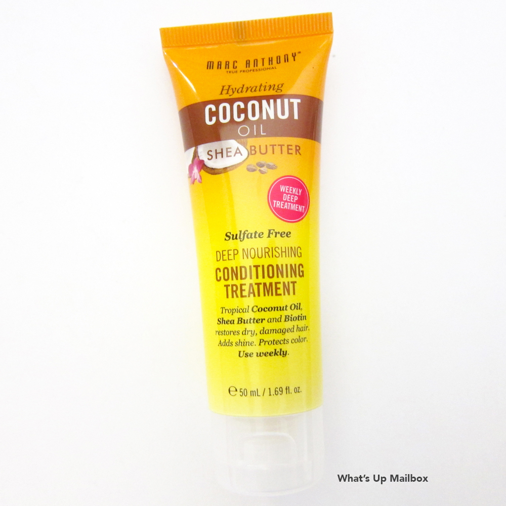 Marc Anthony Hair Care Coconut Oil & Shea Butter Deep Conditioning Treatment