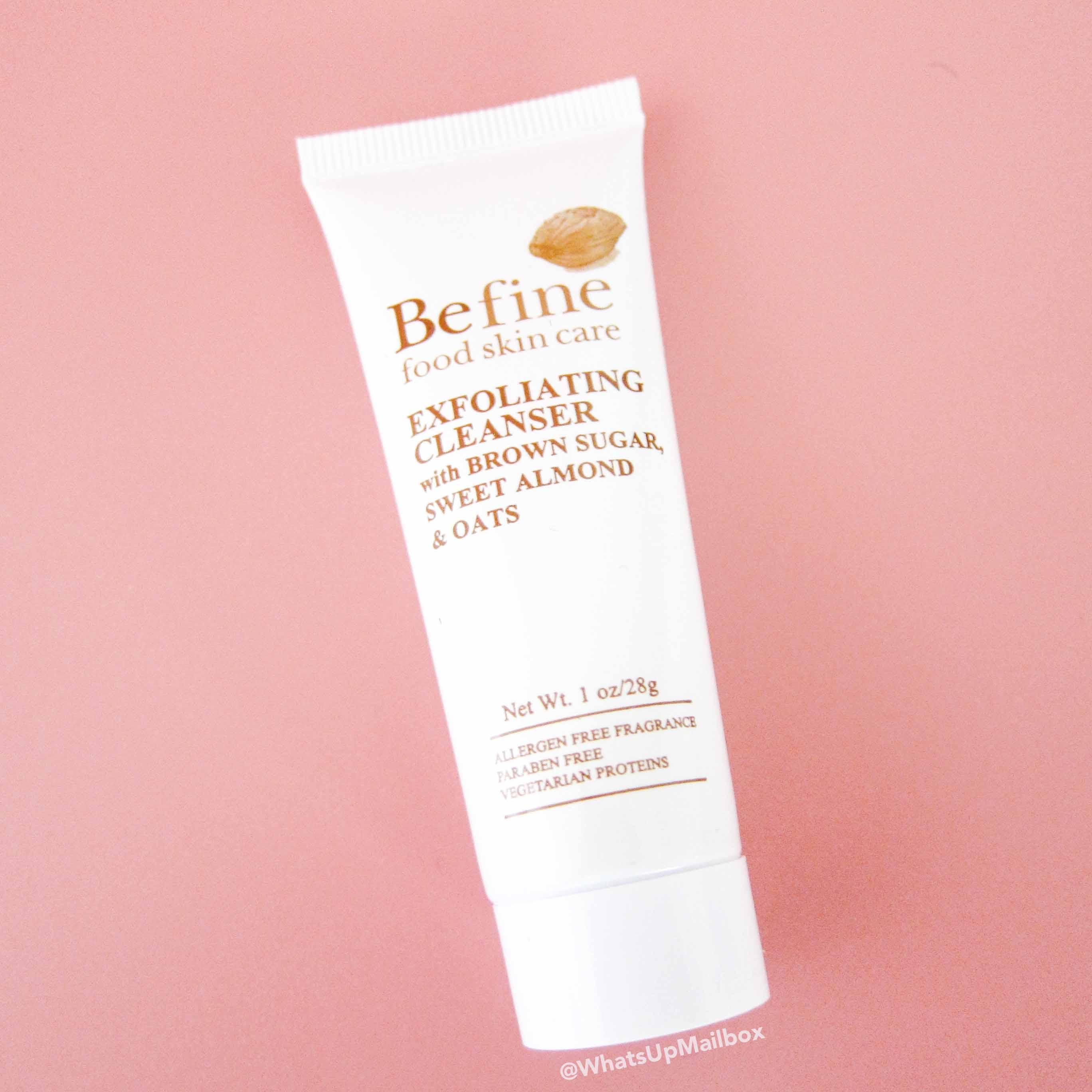 BeFine Food Skin Care - Exfoliating Cleanser