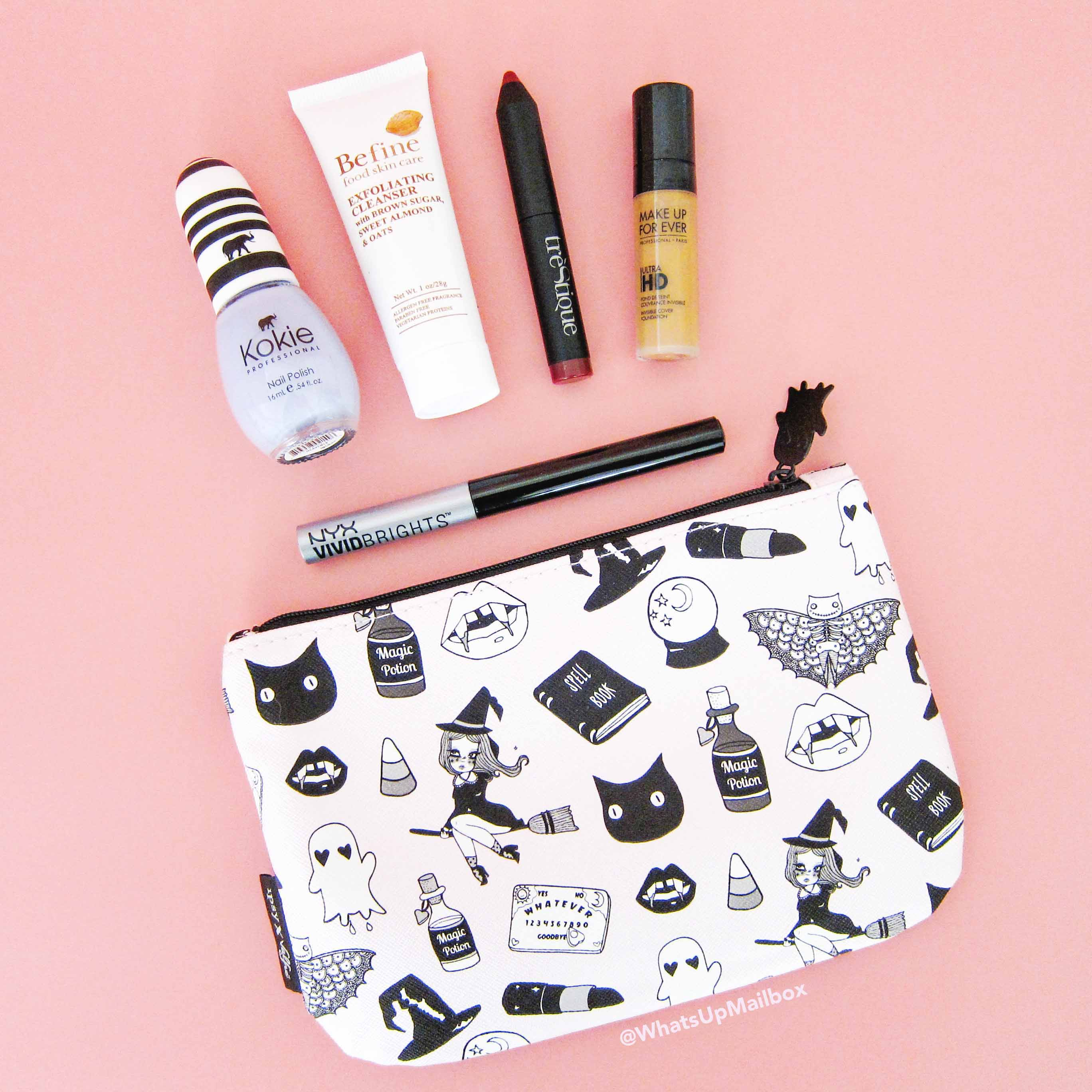 Ipsy October 2016 Glam Bag Review!