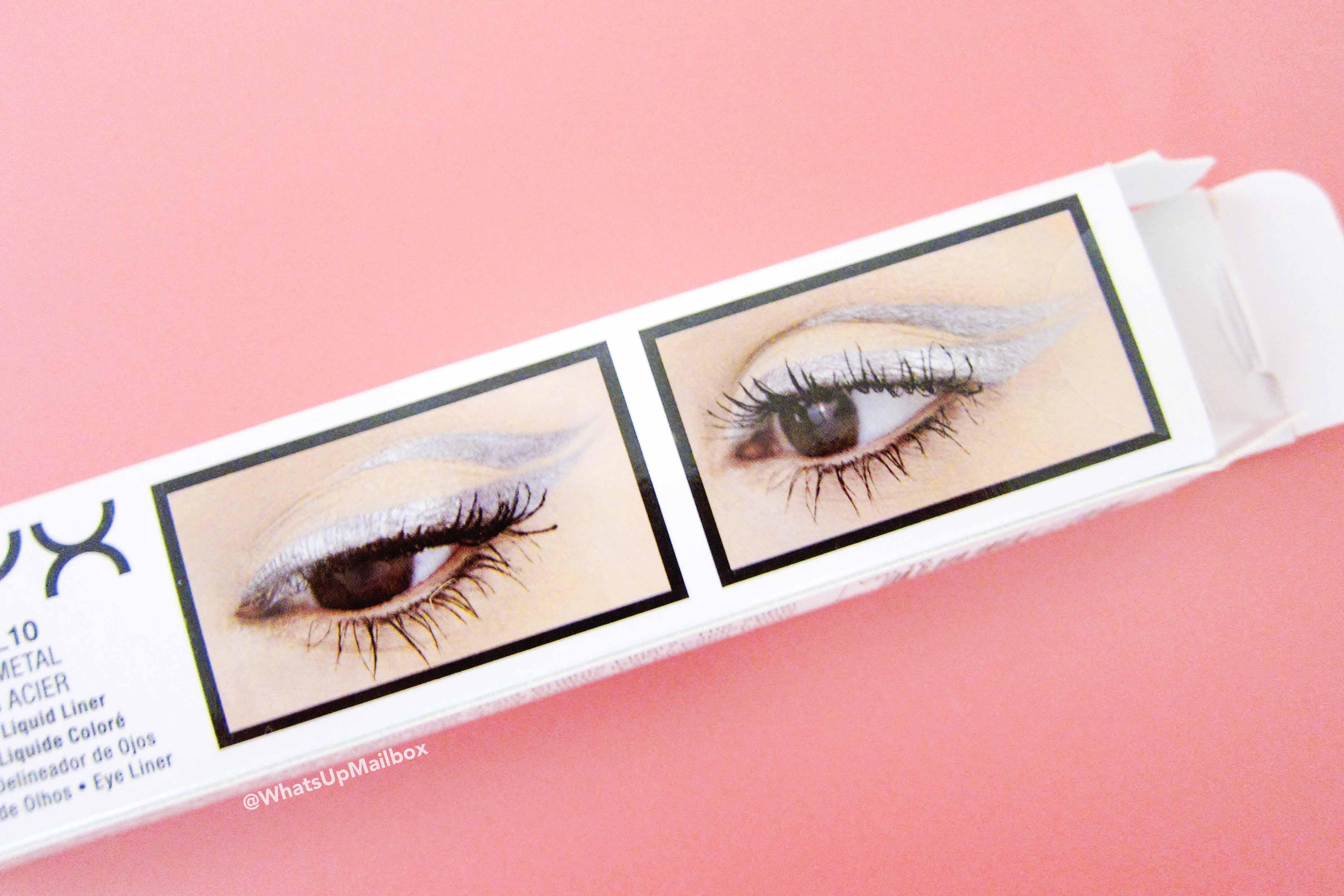 NYX Professional Makeup - Vivid Brights Liner in Vivid Gunmetal