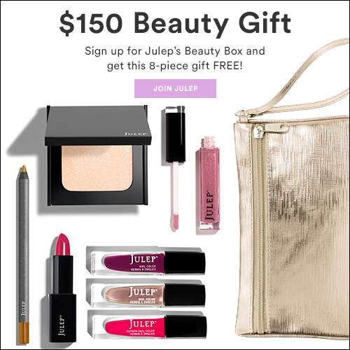 Julep Free 8-pc Gift Set for New Subscribers ($150 Value)!