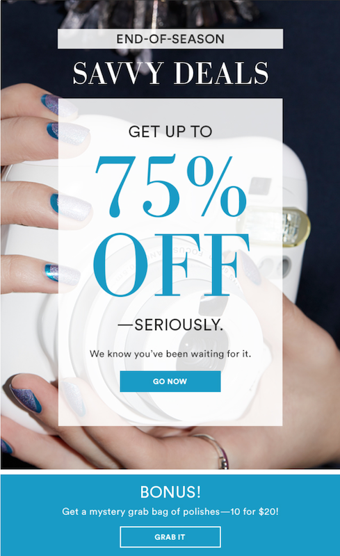 Julep Maven End Of Season Sale Up To 75% + Extra Coupons!