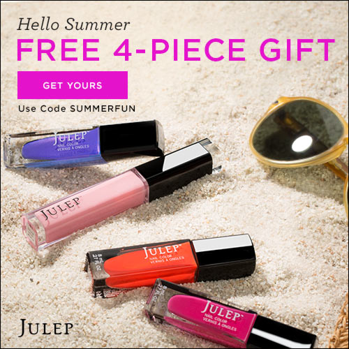 Julep Maven Coupon - Get The Summer Brights Welcome Box Free!