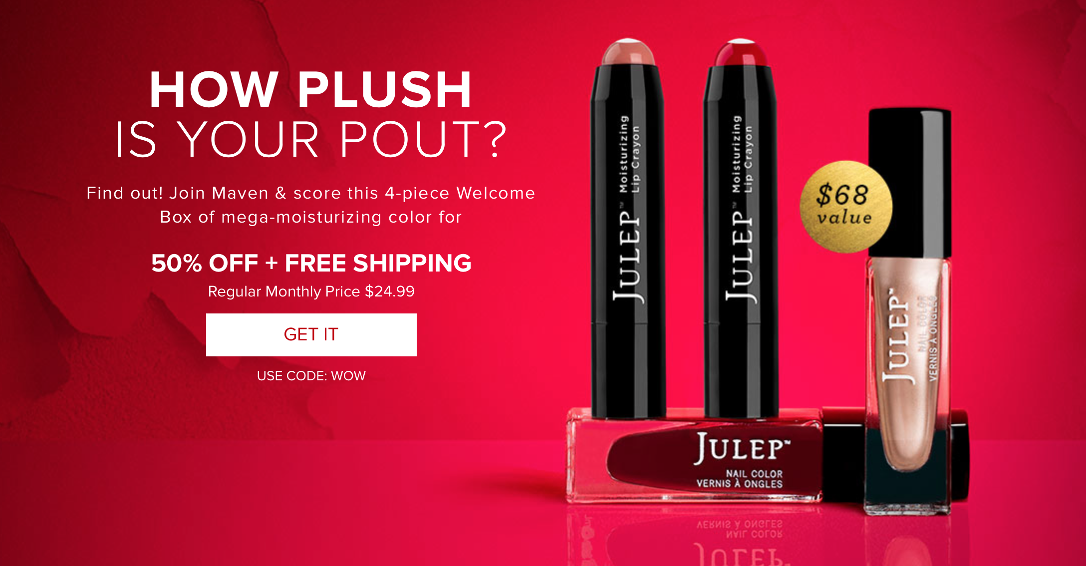 Julep Maven Welcome Box 50% Off