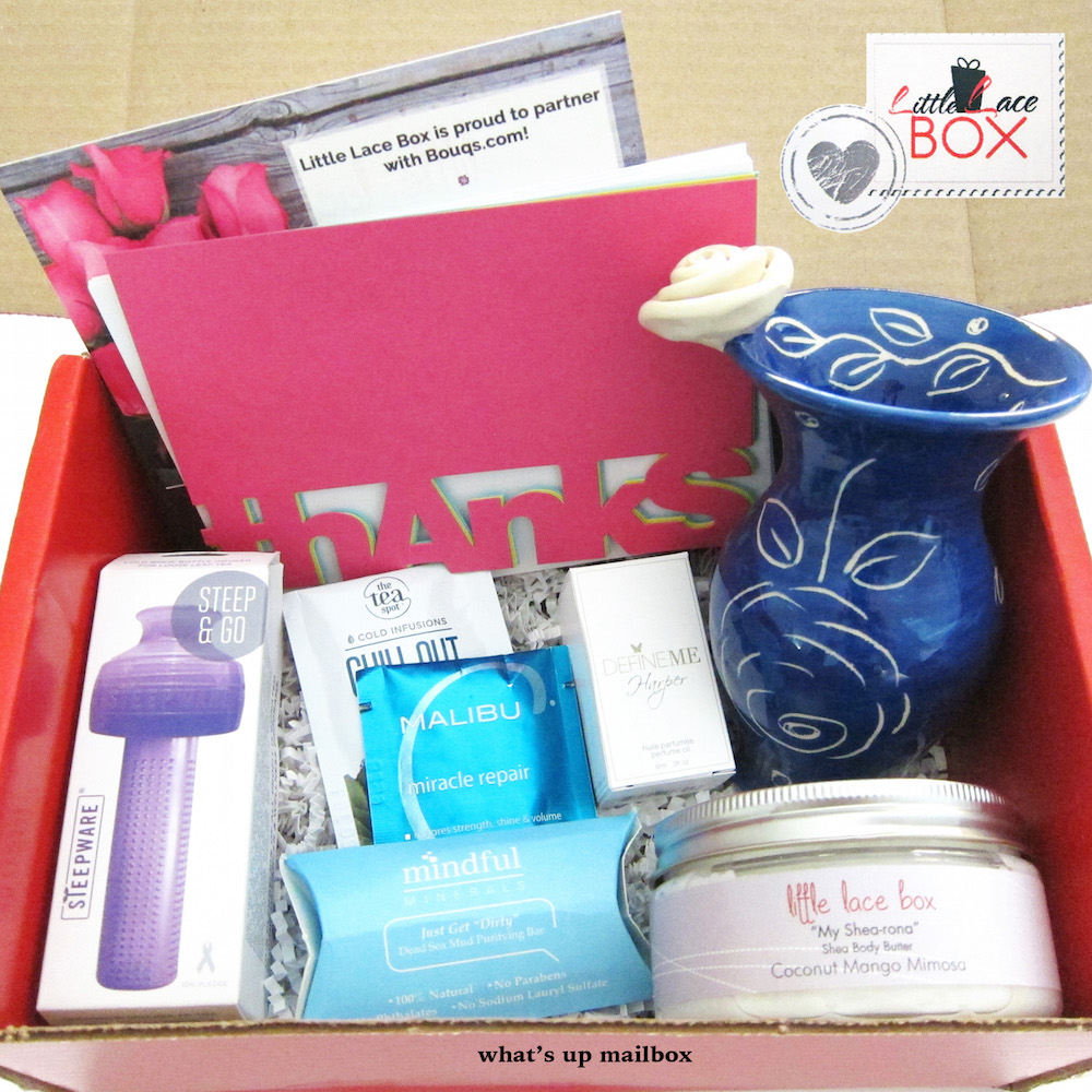 Little Lace Box & Serendipity August 2015 Review + Coupon!