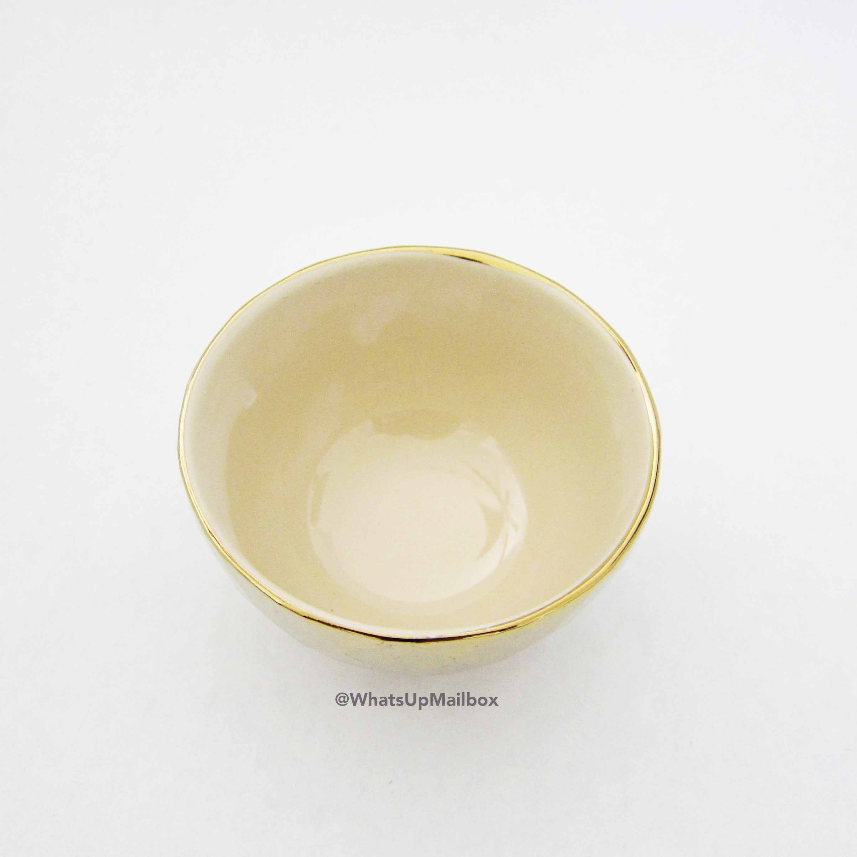 Gold Decorative Bath Bowl