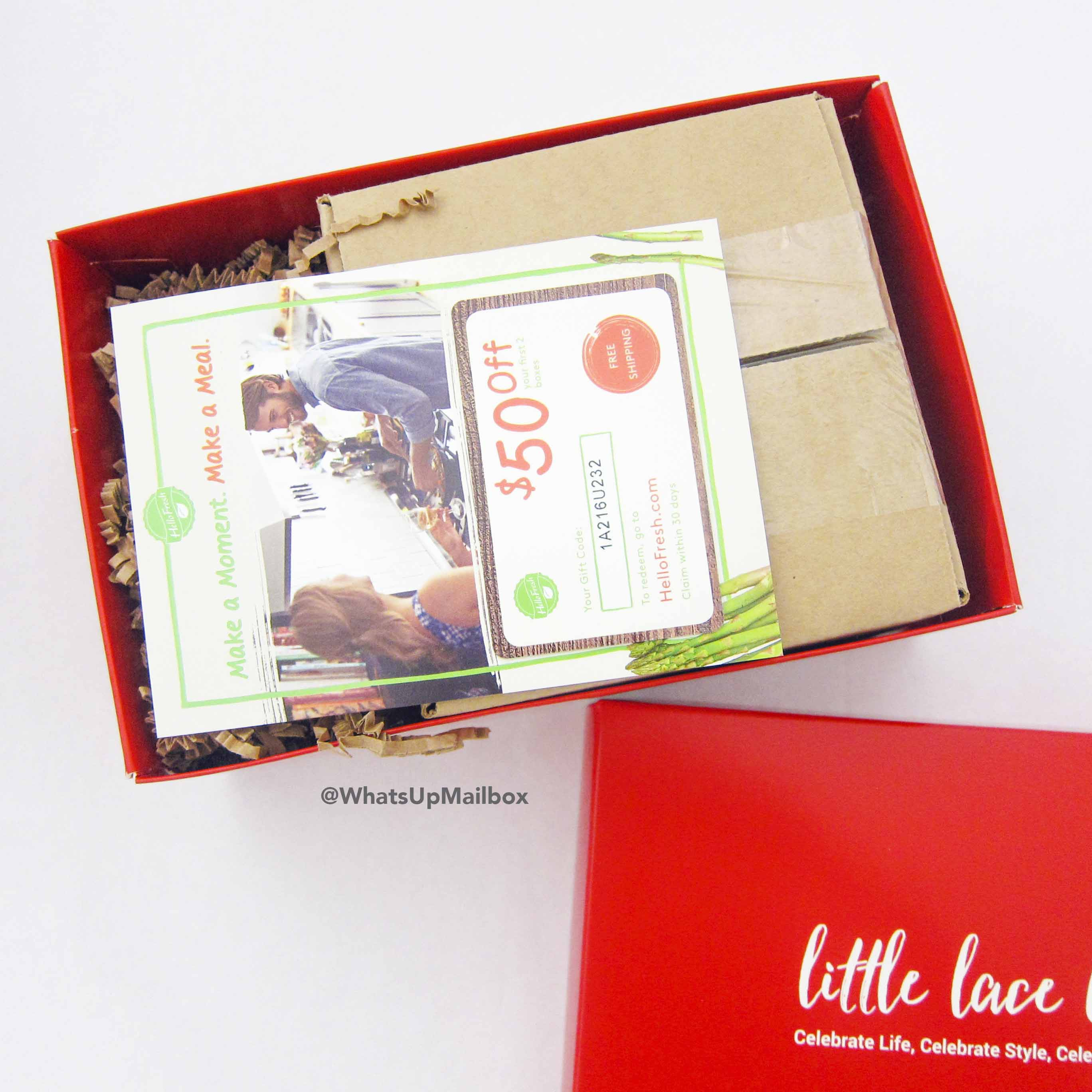 Little Lace Box Unboxing
