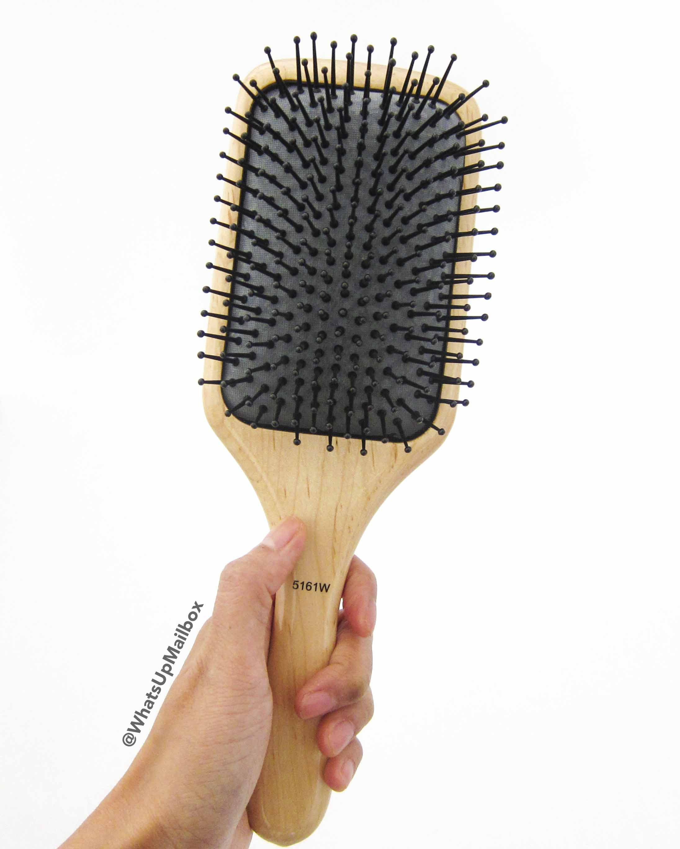 Professional Salon Quality Wood Paddle Brush