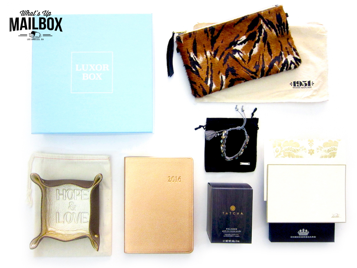Luxor Box December 2015 Special Edition Box Review