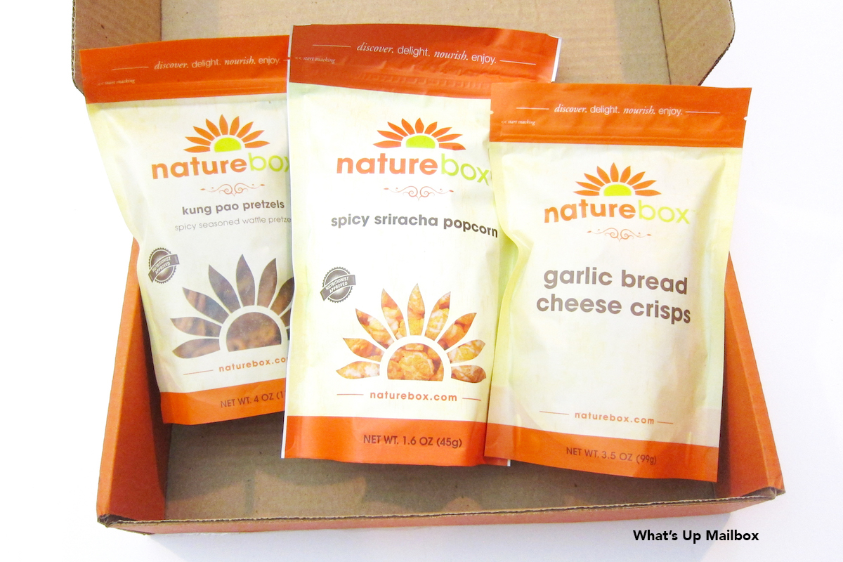NatureBox January 2016 Review + 50% Off Coupon!