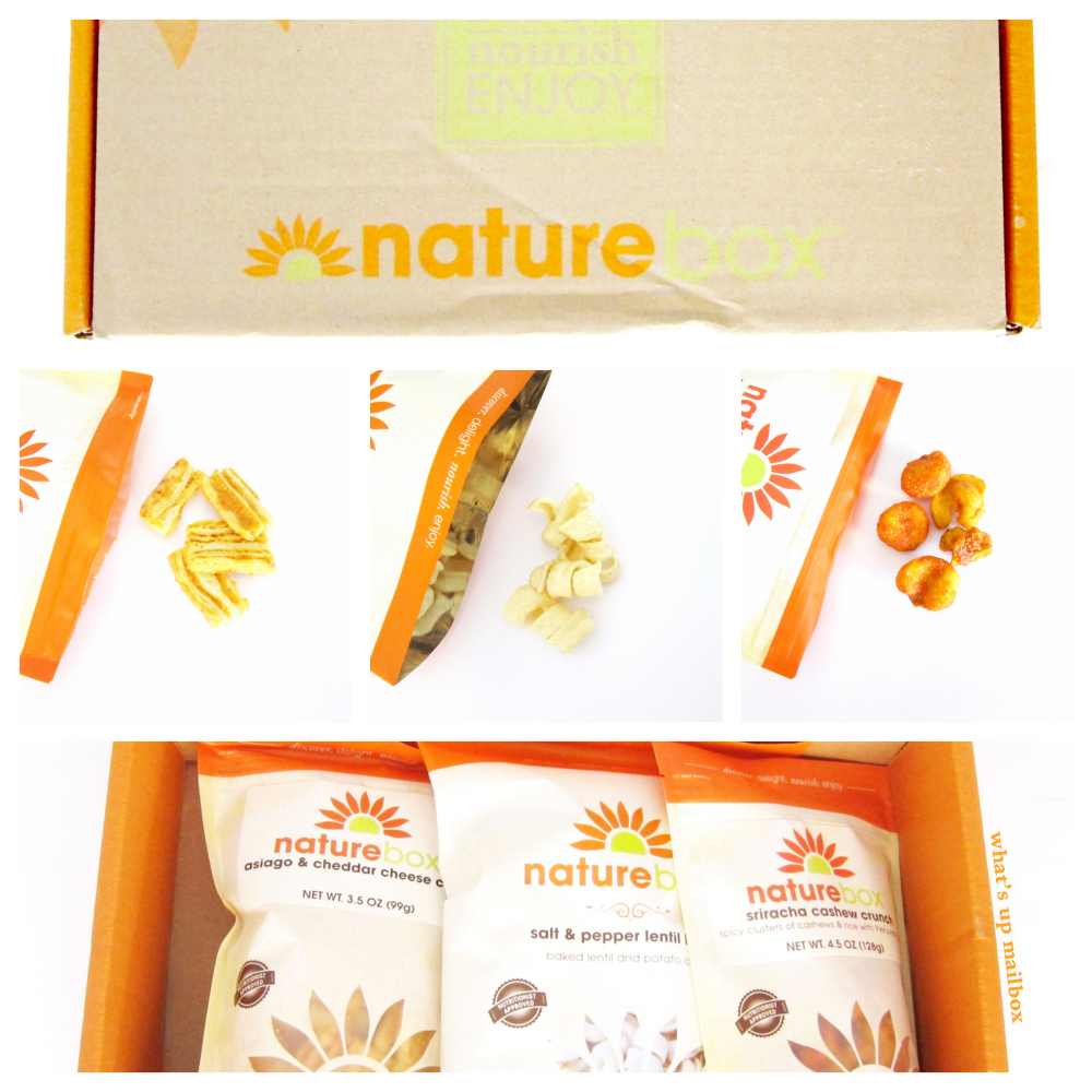 Nature Box September 2015 Items