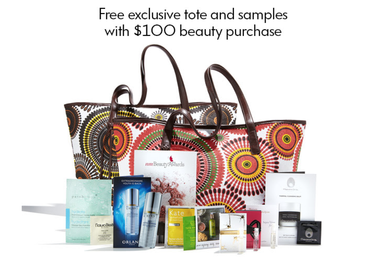 Neiman Marcus GWP - Free Tote and Samples!