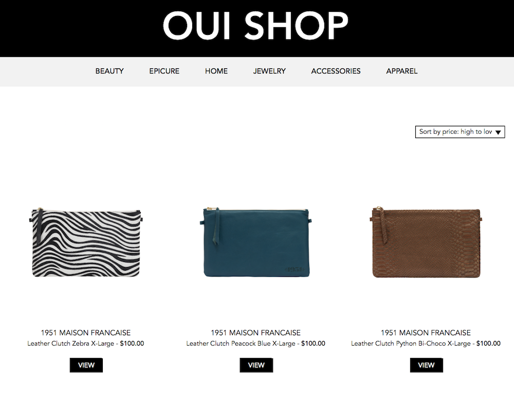 1951 Maison Francaise Clutches ON SALE at Oui Please Website!