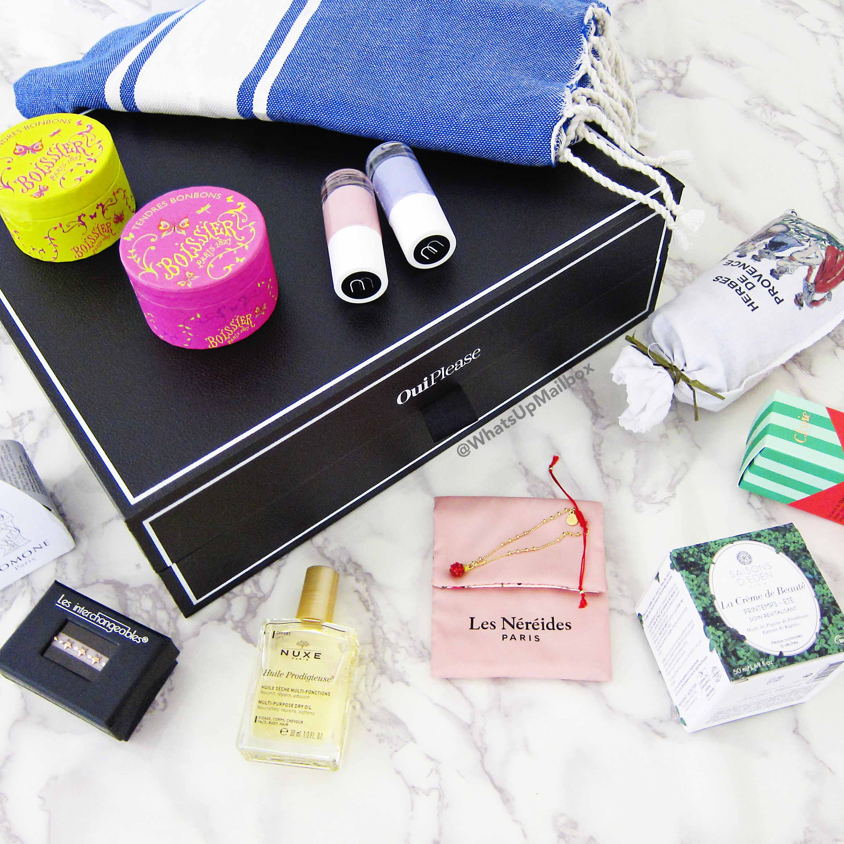 Oui Please Vol. 2.3: Summer Escapade Box Review + Coupon