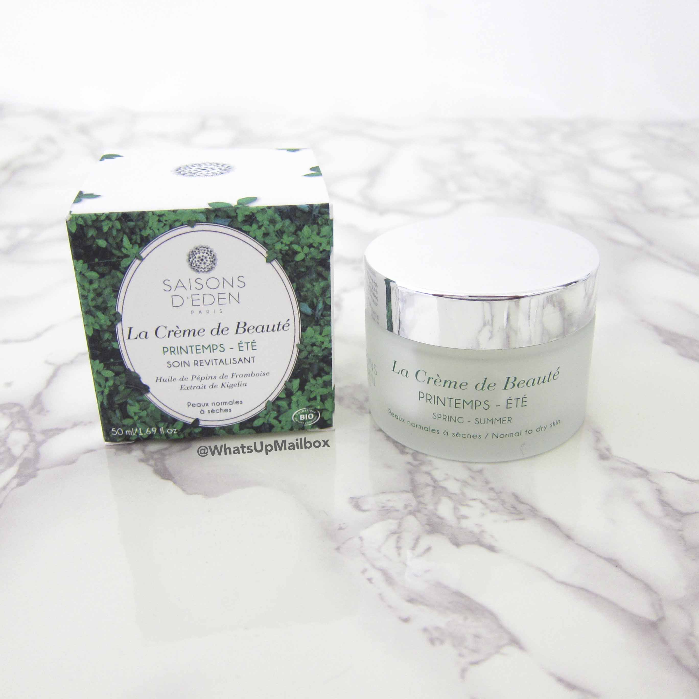 Oui Please Vol. 2.3 - Saisons D'Eden Paris Le Creme De Beaute Revitalizing Cream
