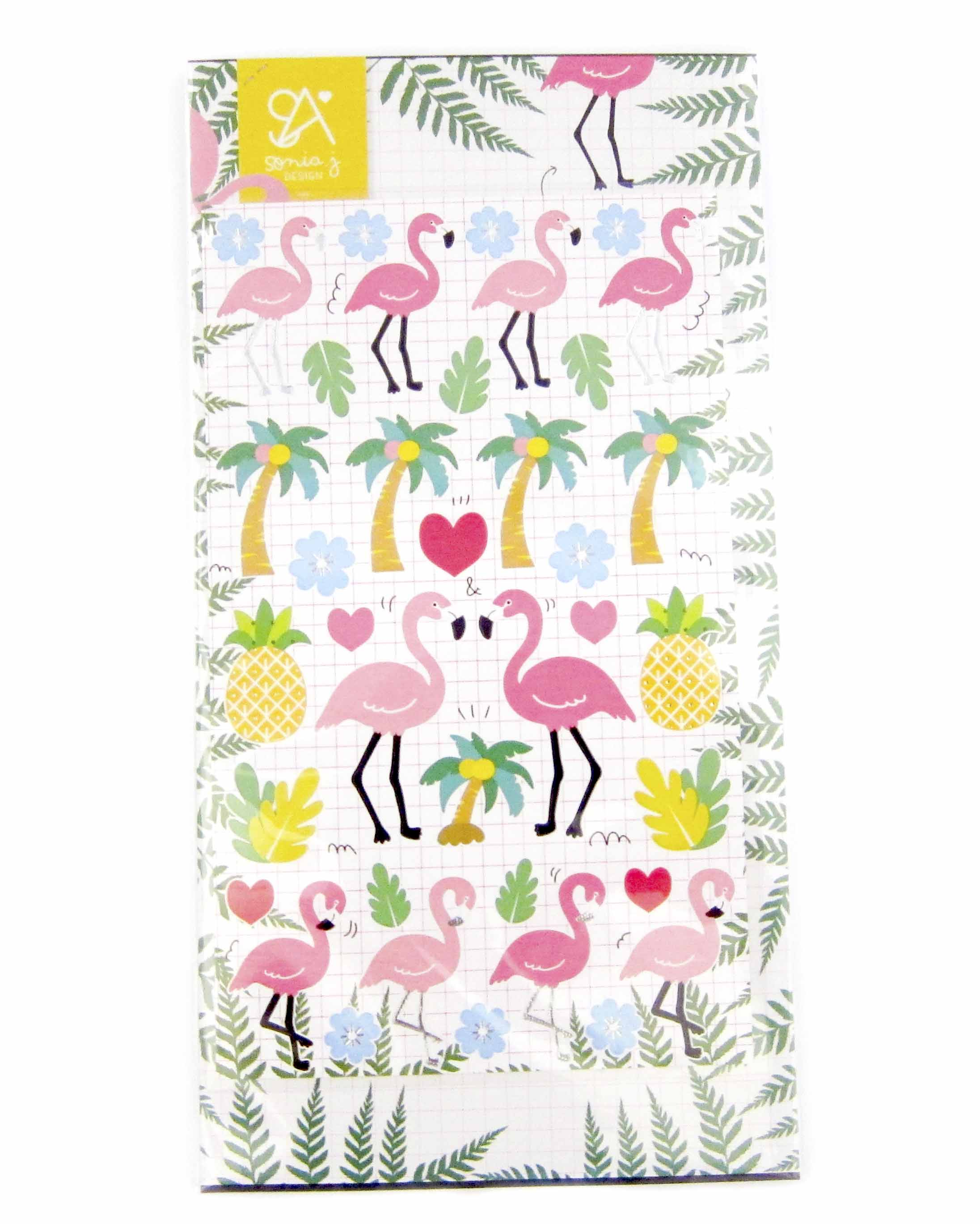 Panduh Box June 2016 Sonia J. Design Flamingo Stickers
