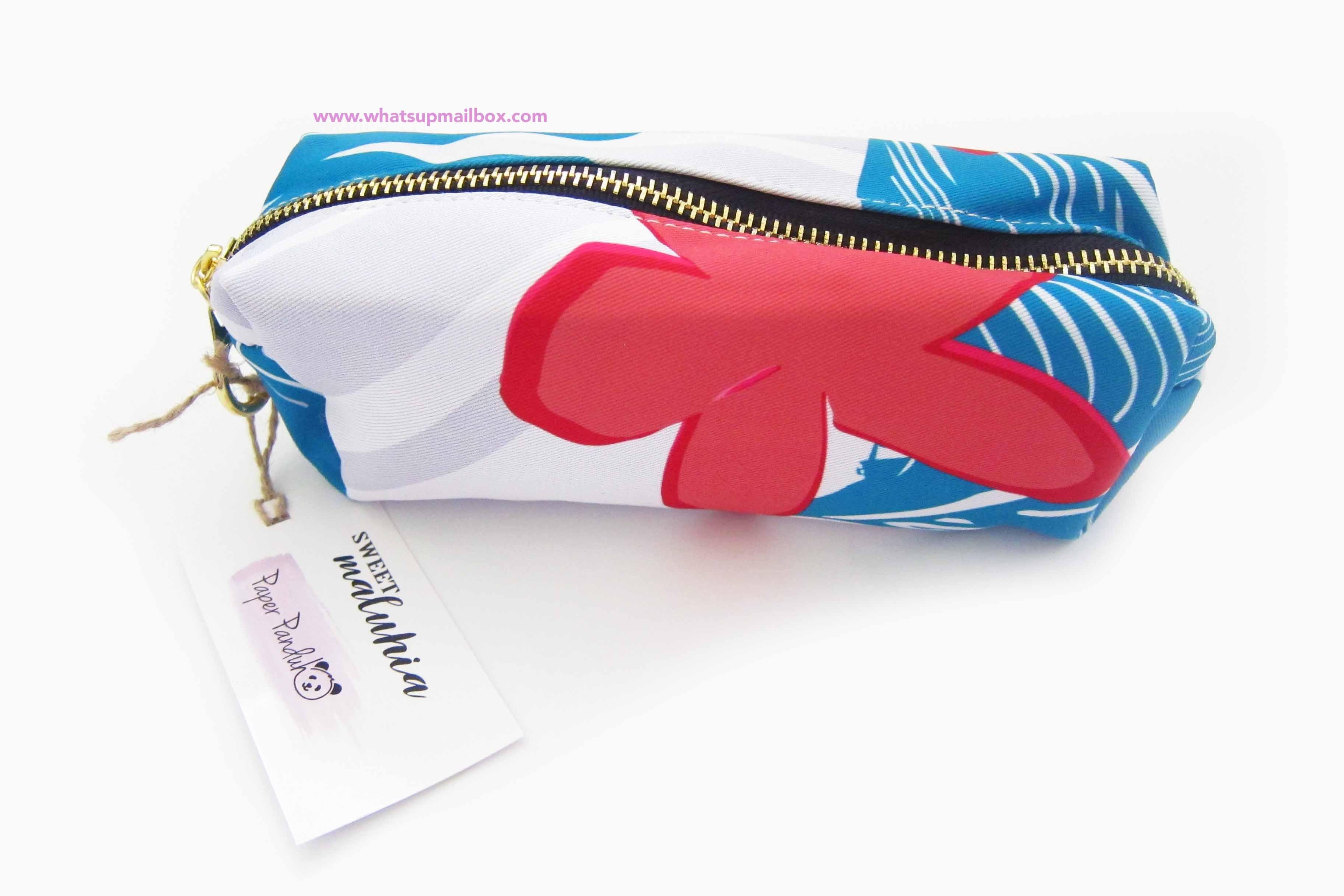 Panduh Box June 2016 Sweet Maluhia Makeup Bag