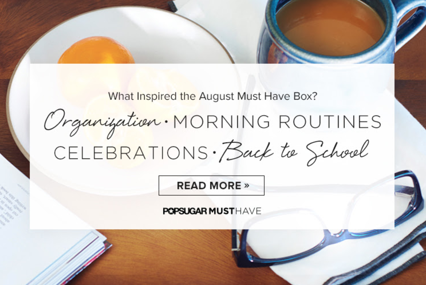 Popsugar Must Have August 2015 Theme Spoiler + Coupon!