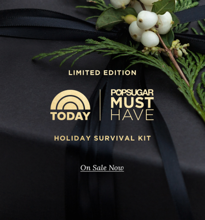 Popsugar Must Have Special Edition Holiday Survival Kit On Sale Now!