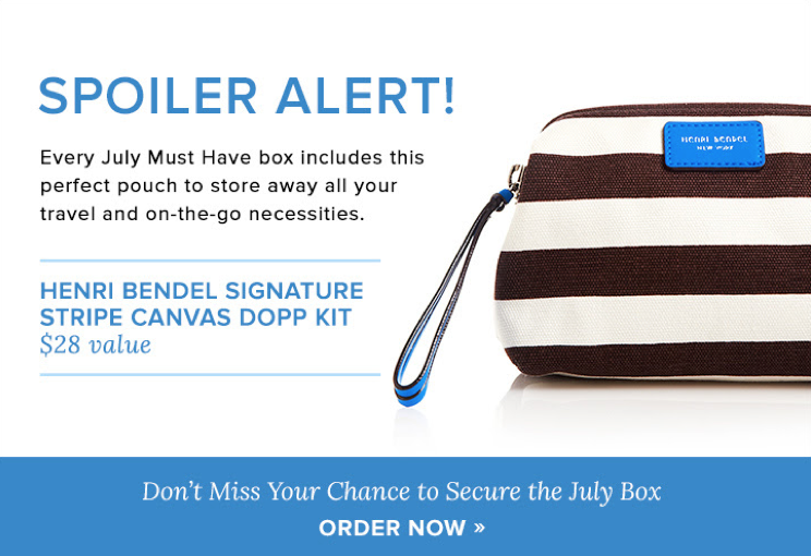 Popsugar Must Have July 2015 Spoiler Item + Coupon!