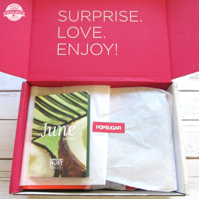 Popsugar Must Have June 2015 Review + Coupon!