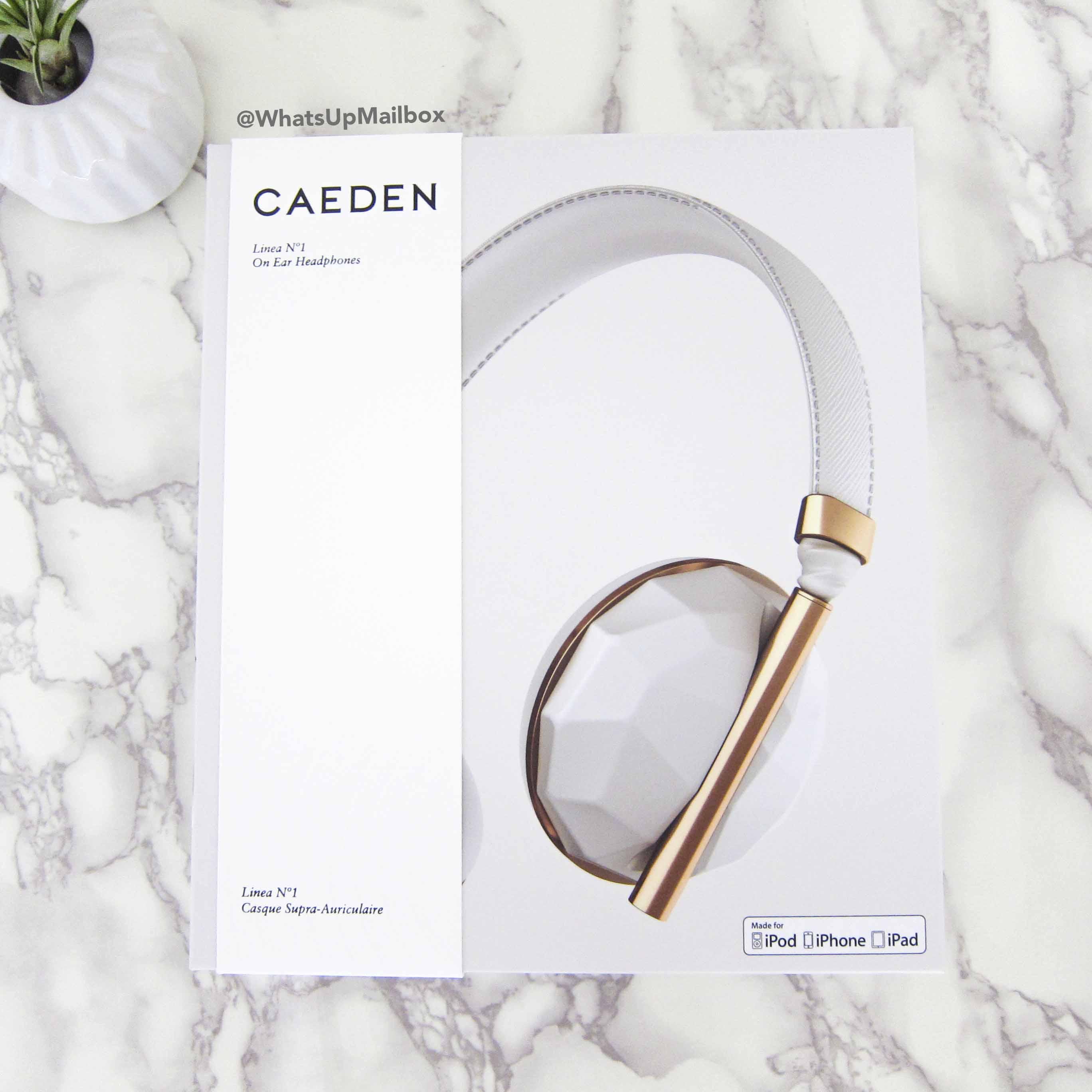 CAEDEN Linea No.1 Faceted Ceramic & Rose Gold Headphones