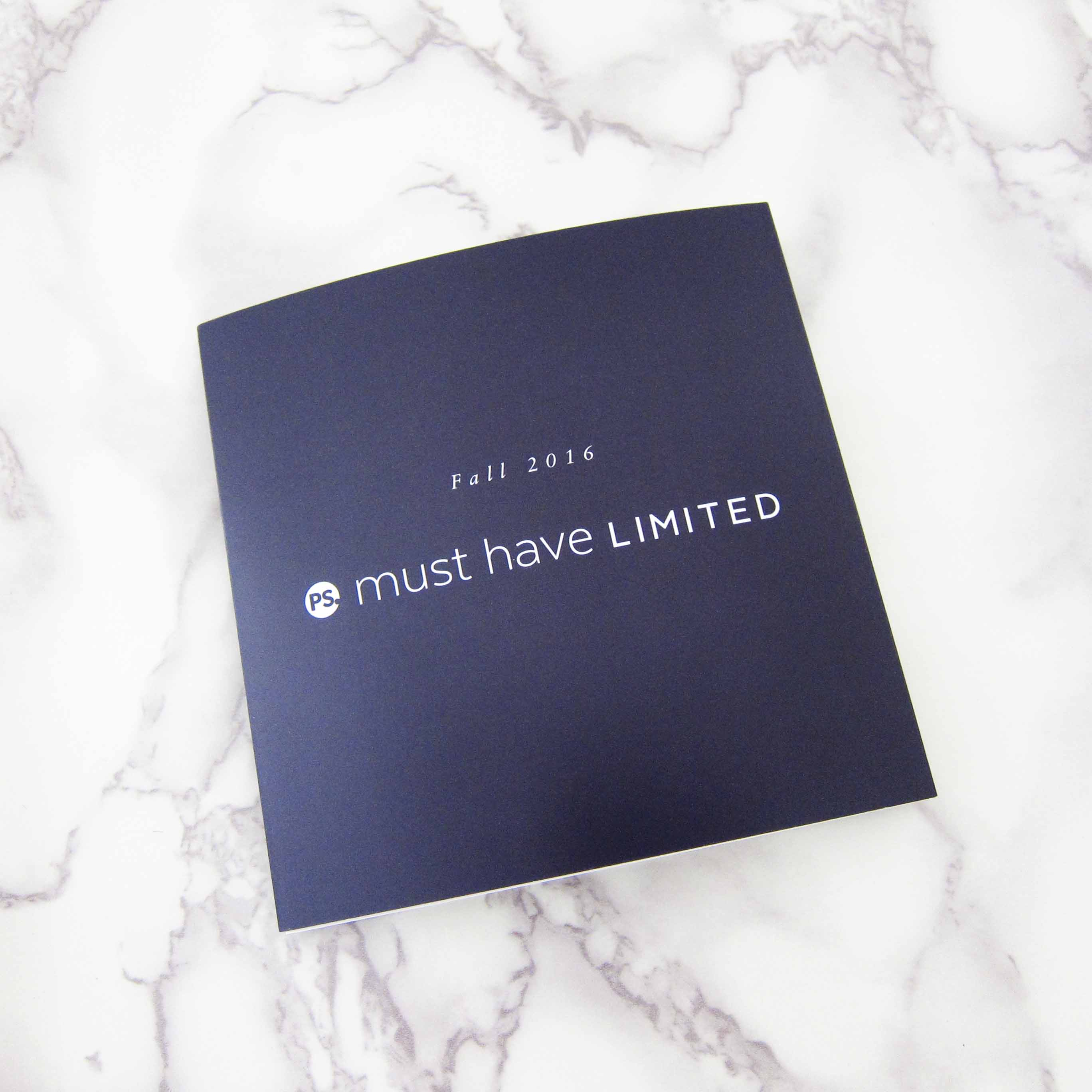 Popsugar Limited Edition Fall 2016 Info Card