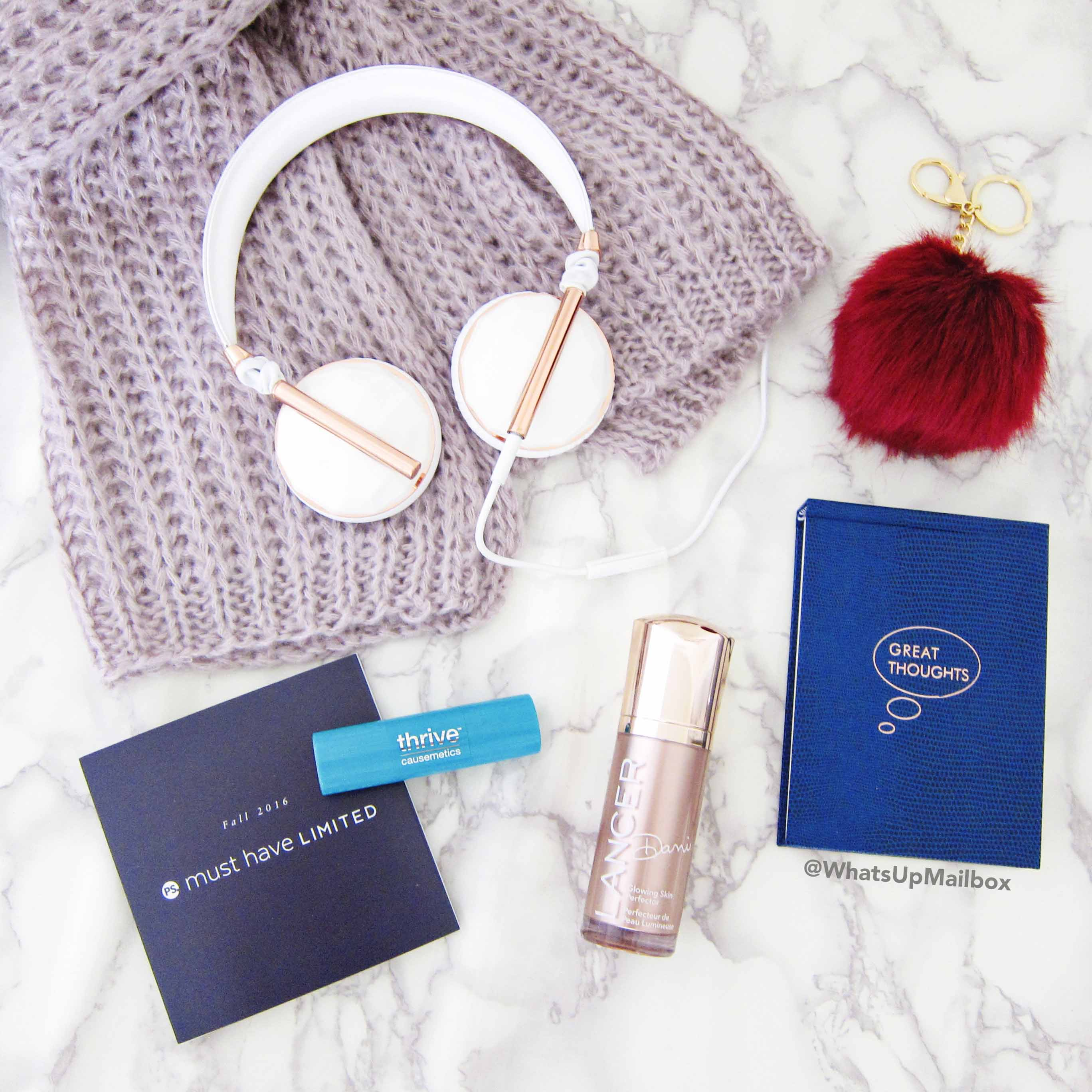 Popsugar Must Have Limited Edition Fall 2016 Items