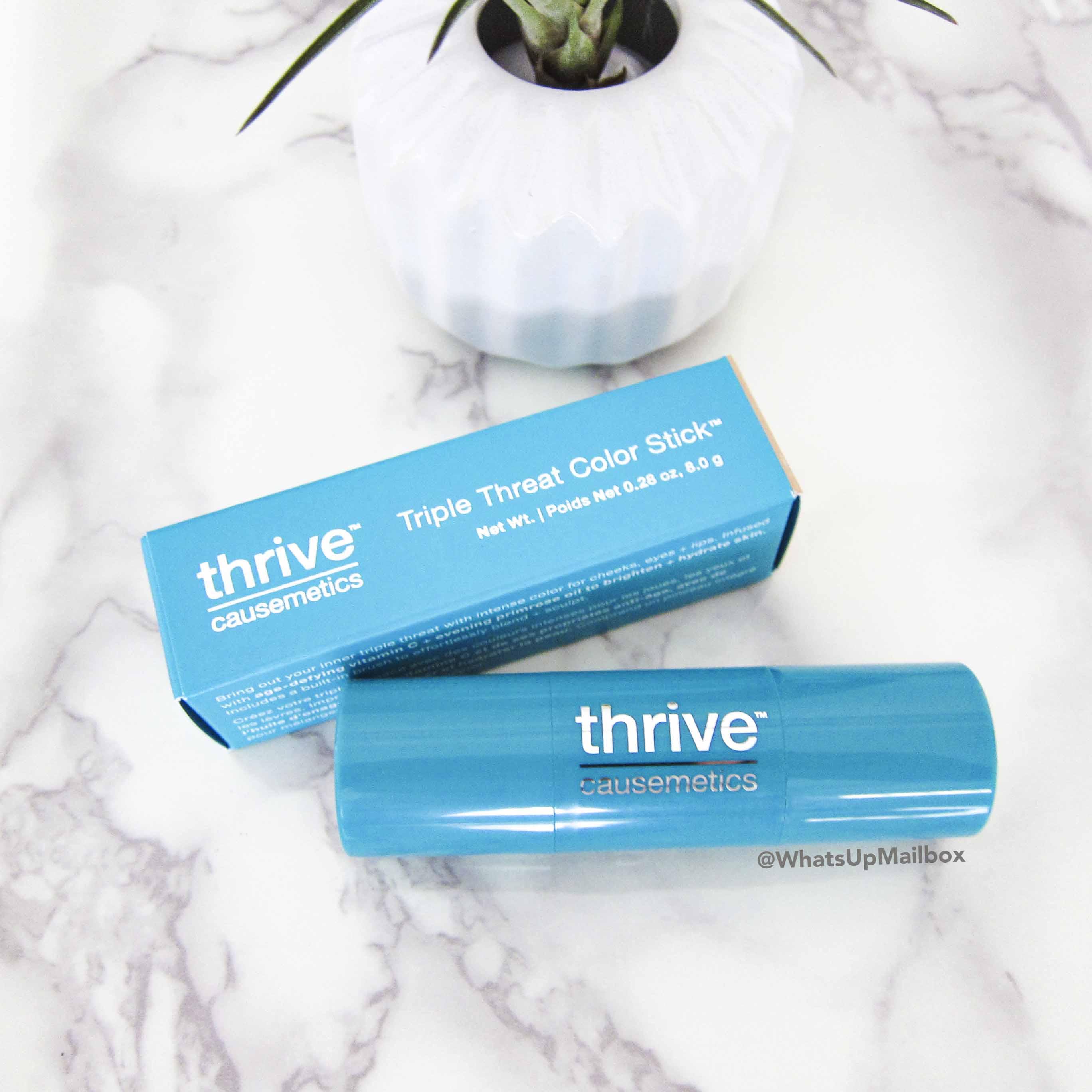 Thrive Causemetics Triple Threat Color Stick in Joy