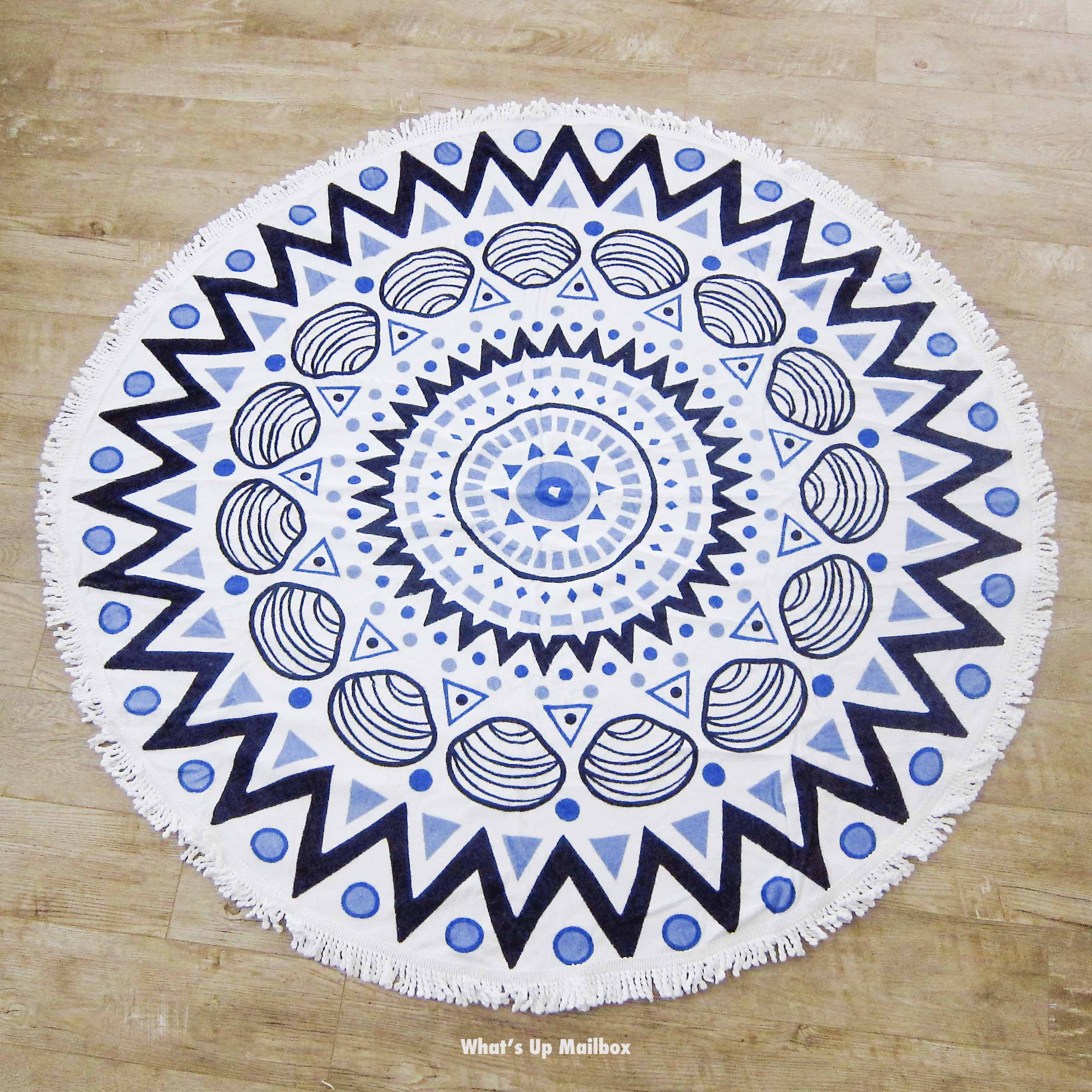 Tofino Round Beach Towel
