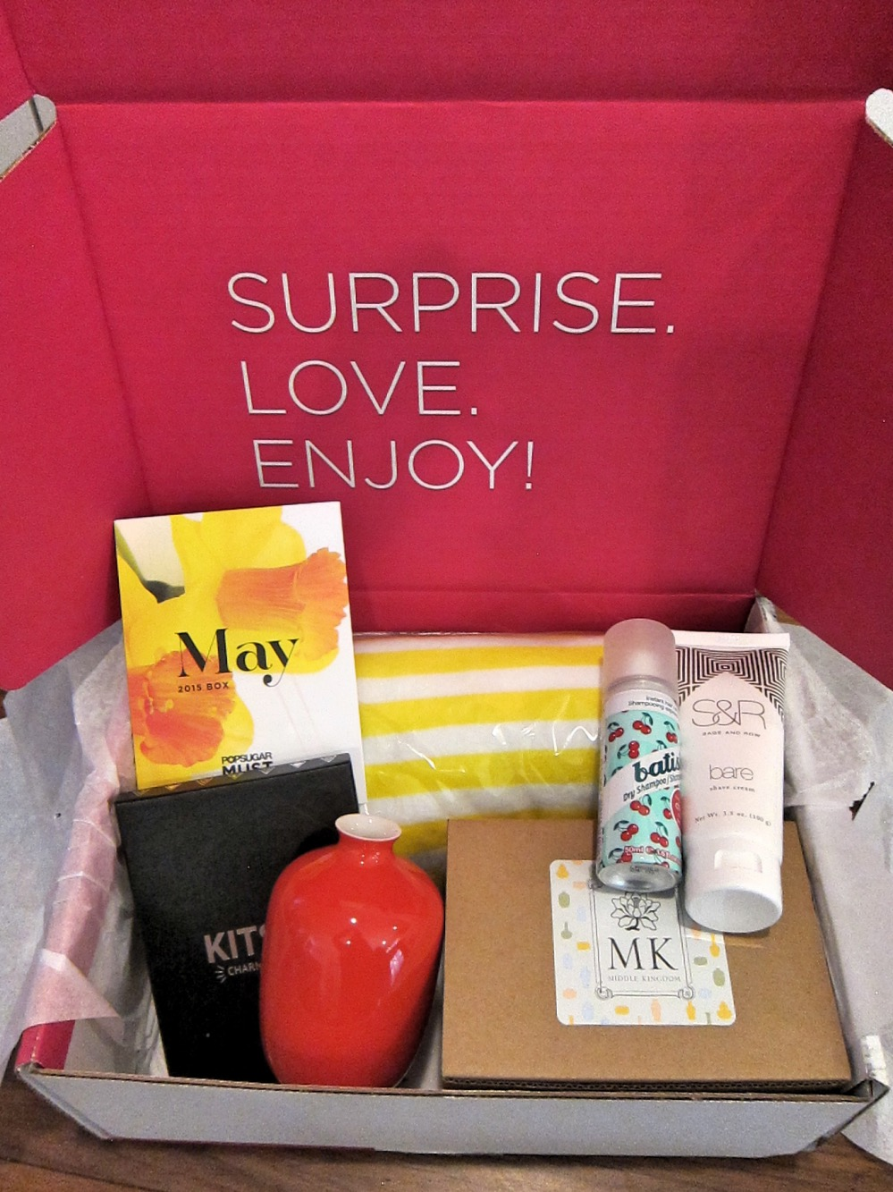 Popsugar Must Have May 2015 Open Box