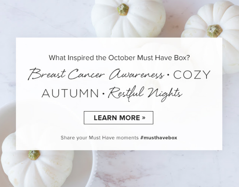 Popsugar Must Have October 2015 Theme