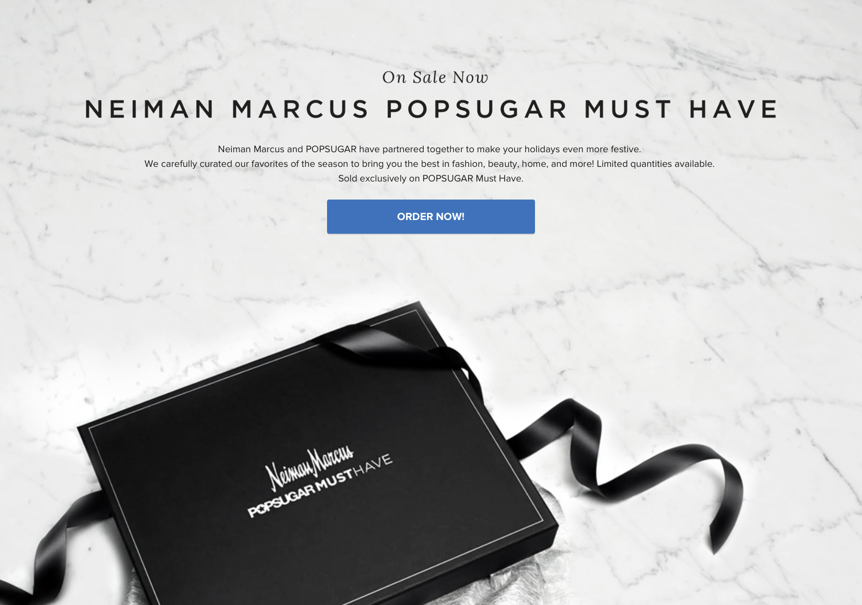 Neiman Marcus Popsugar Must Have Special Edition 2015 ON SALE NOW!