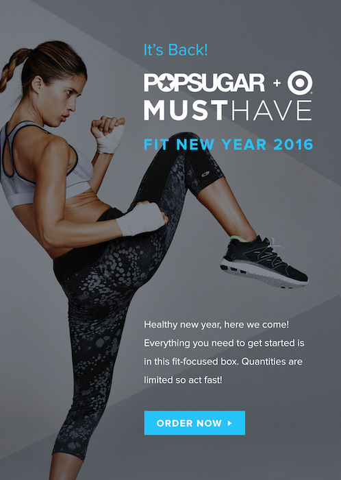 Popsugar Must Have Target Fit New Year 2016 News!