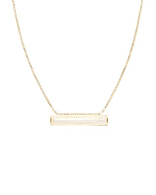 Kendra Scott Eleanor Ivory Mother Of Pearl Necklace Gold