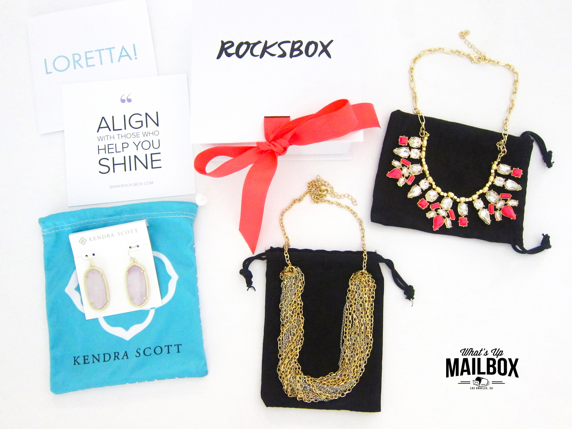 Rocksbox March 2016 Items!