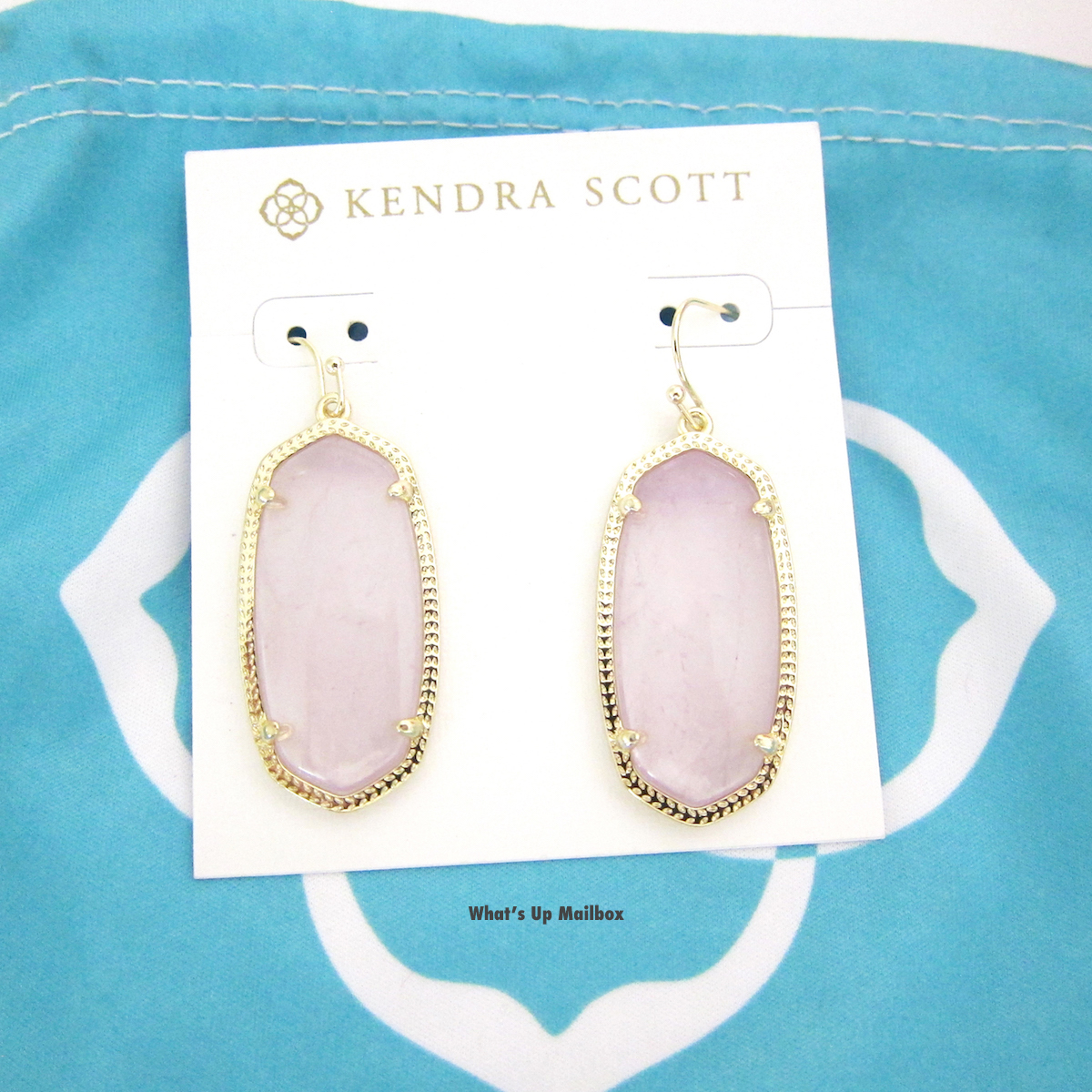 Kendra Scott Elle Earrings in Amethyst