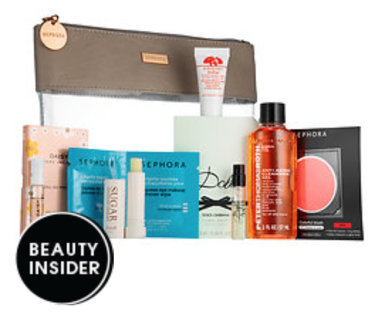 Sephora 500 Point Rewards: Gym Bag Beauty Basics