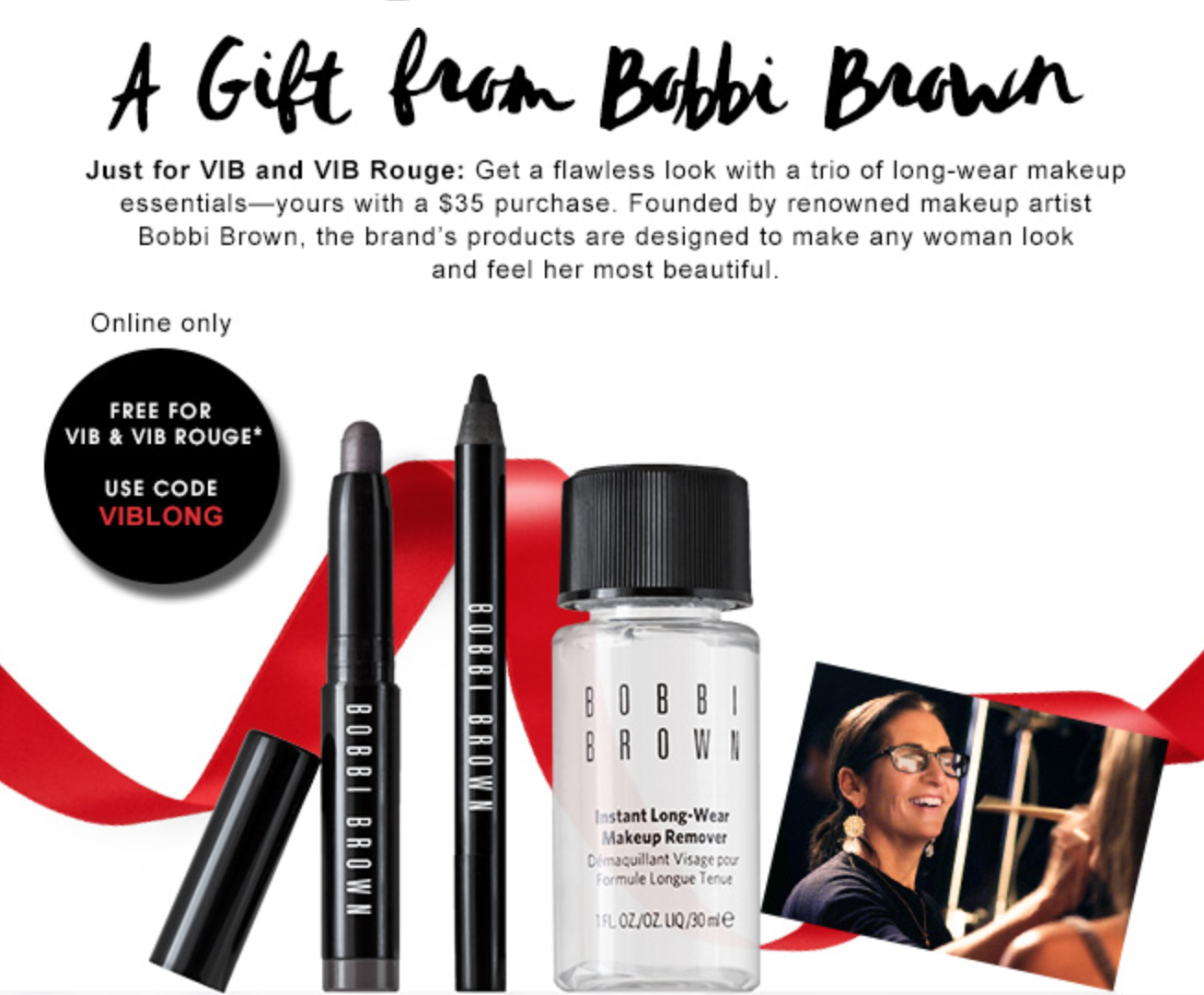 Sephora GWP from Bobbi Brown - VIB & VIB Rouge Only