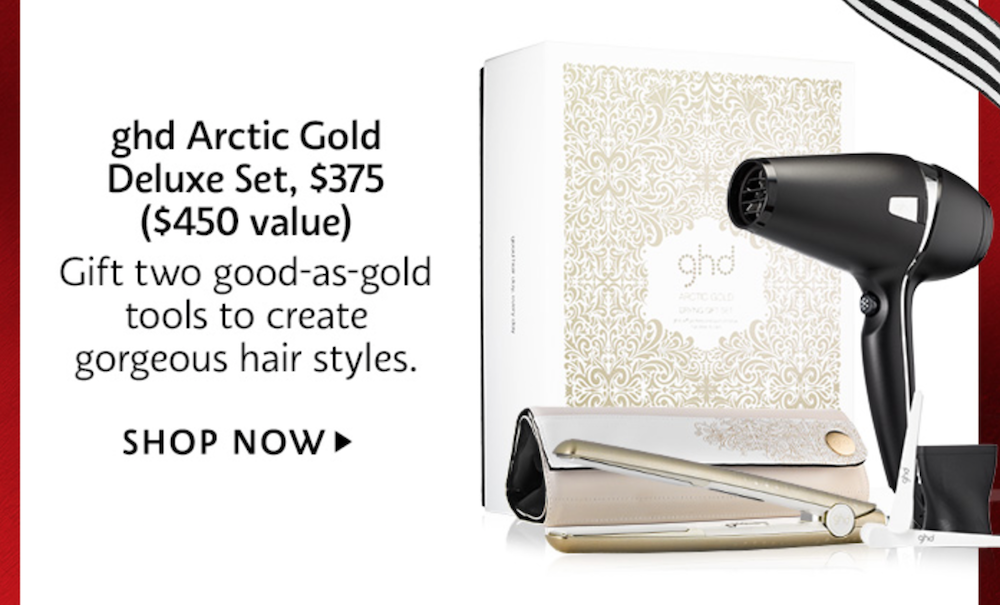 ghd Arctic Gold Deluxe Set