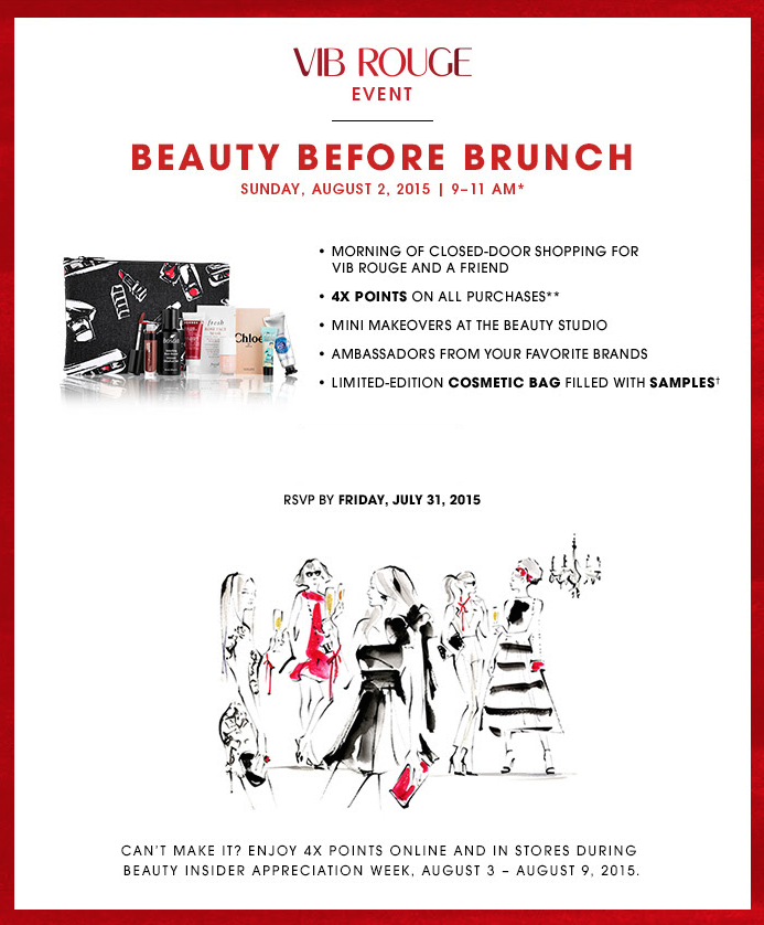 Sephora VIB Rouge Event!