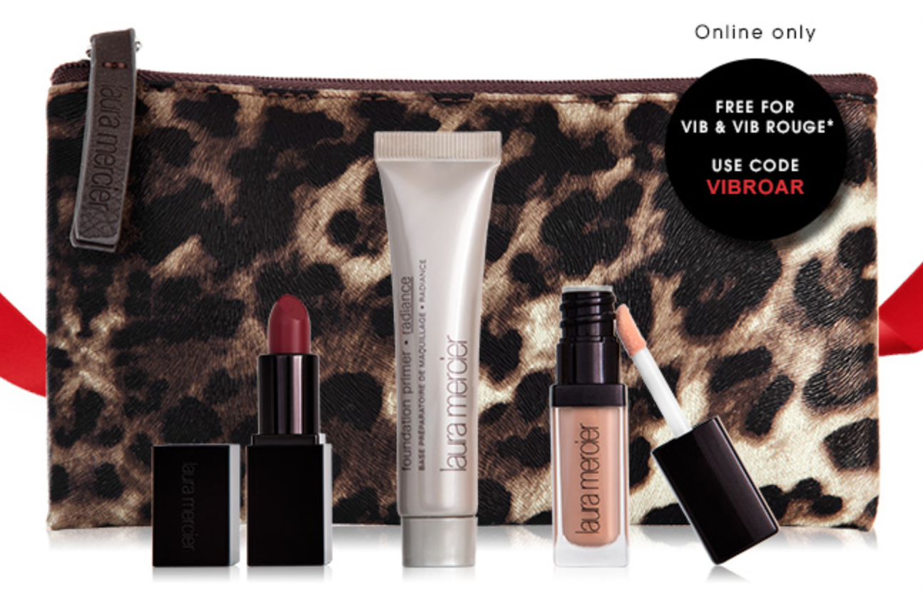 Sephora GWP: Laura Mercier Deluxe Sample Set - VIB & VIB Rouge Only