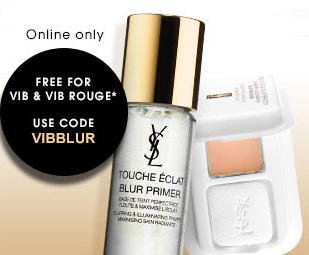 Sephora GWP from YSL - VIB & VIB Rouge Only