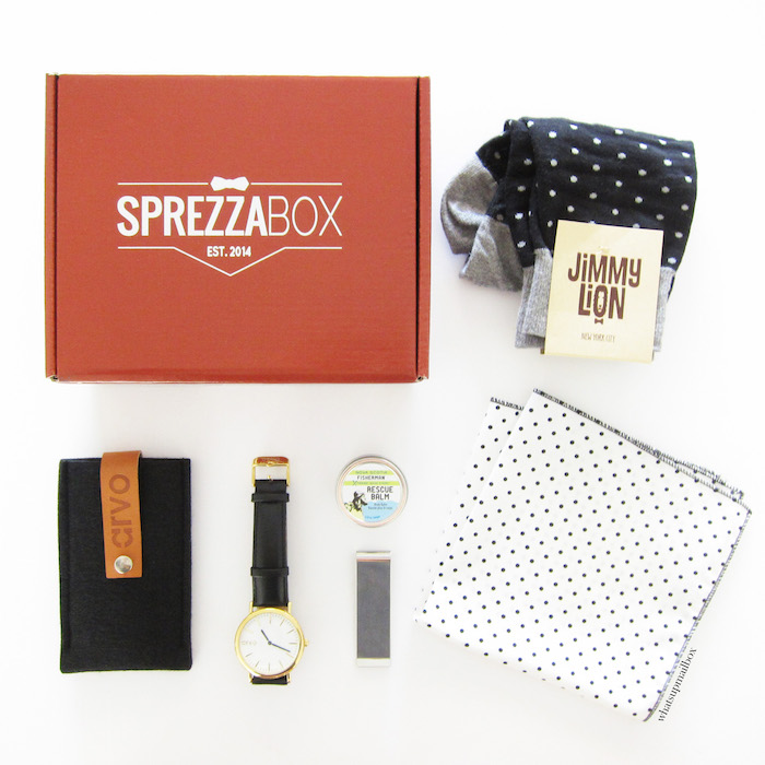 Sprezza Box July 2015 Items