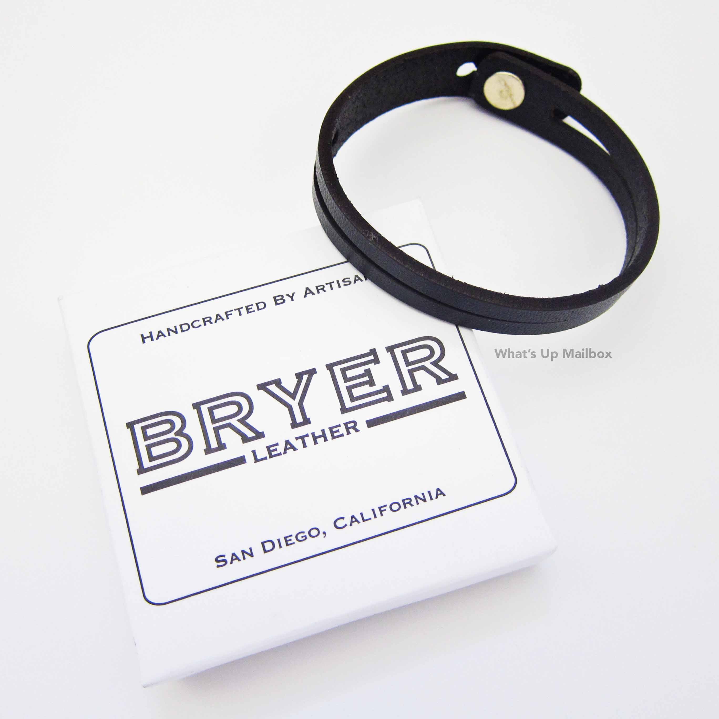 Bryer Leather Bracelet