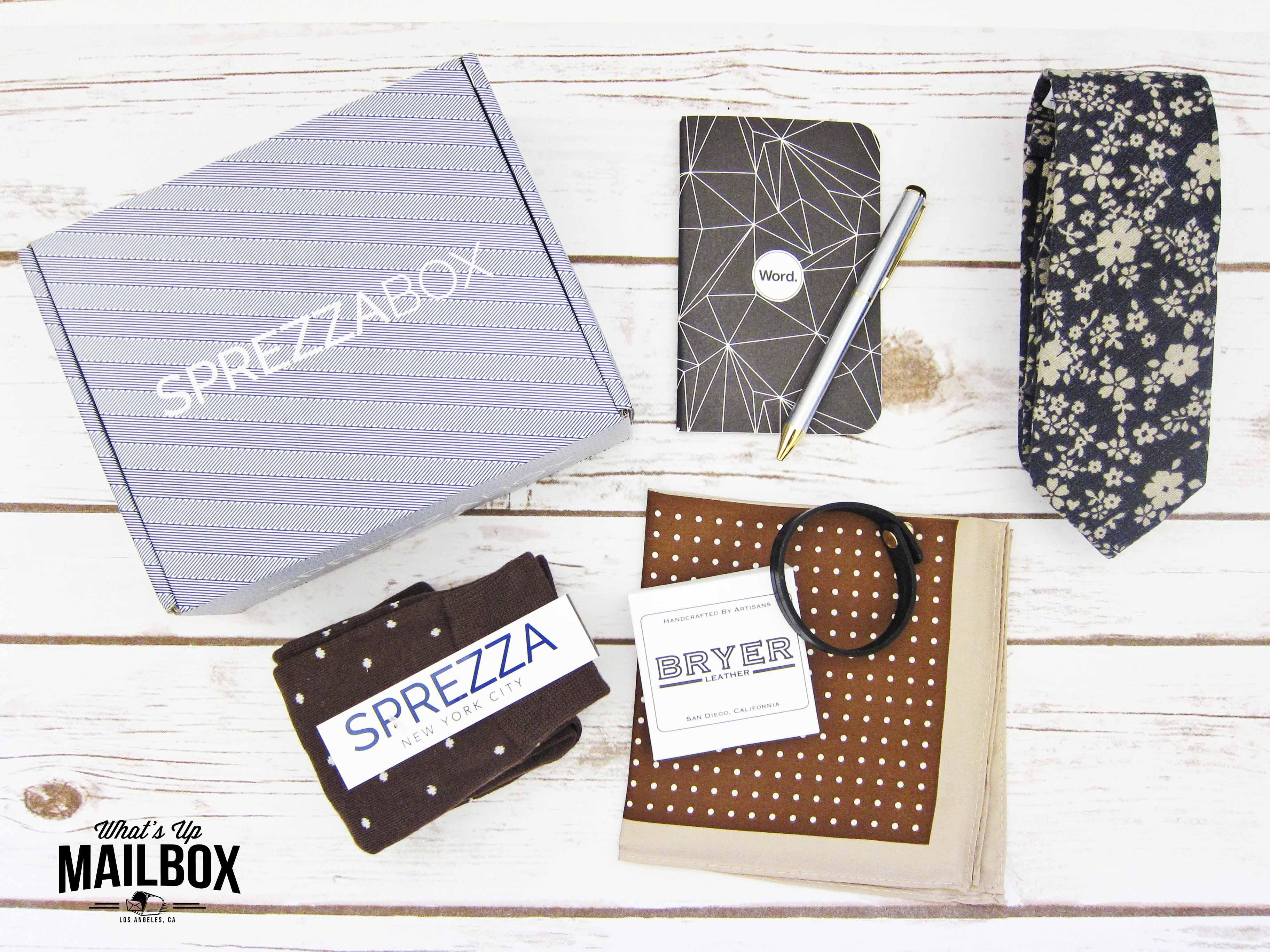 Sprezza Box July 2016 Items