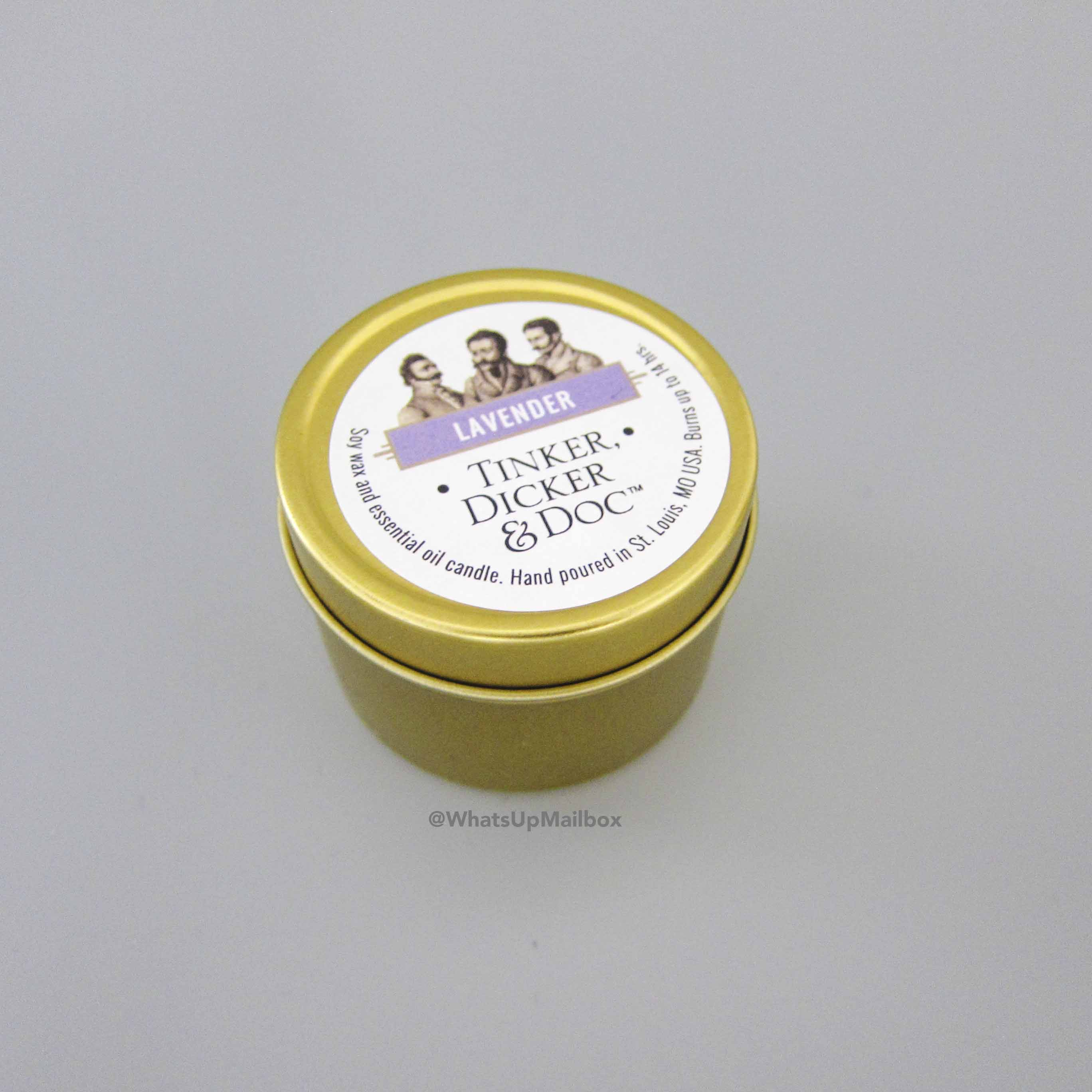 Tinker, Dicker & Doc Lavender Candle