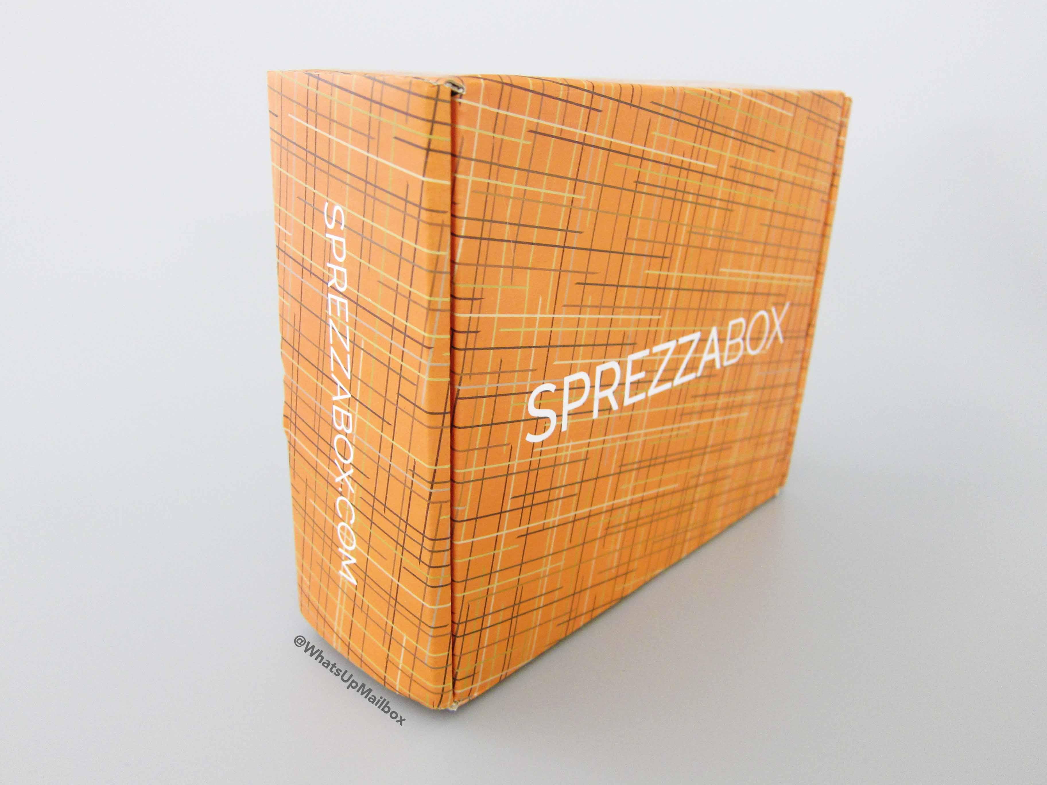 Sprezza Box October 2016 Box